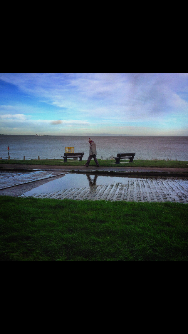 Stroll Along The Beach inEngland..