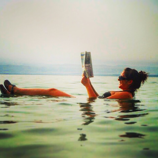 Feeling Alive in The Dead Sea